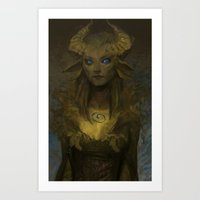 Panshee Art Print