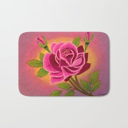 Rose for you Bath Mat