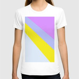 Abstract Minimal Color - Provence - Lavender at sunset T-shirt