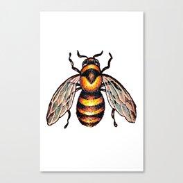 I put a bee on it Canvas Print