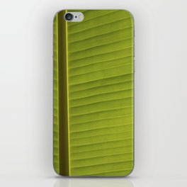 Banana Leaf II iPhone Skin