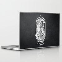 tarot Laptop & iPad Skins featuring Death Tarot by imadamspivak