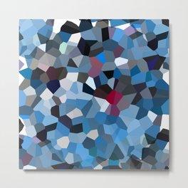 Sapphire Periwinkle Blue Moon Love Metal Print