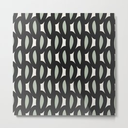 geo six-celadon Metal Print