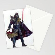 Cat Dad Vader Stationery Cards