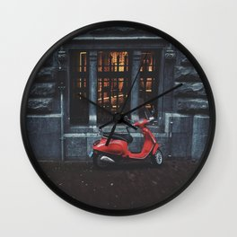Drive yourself Wall Clock