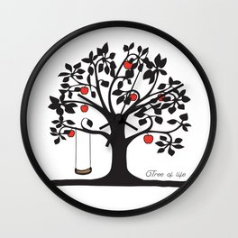 Tree of Life Collection Wall Clock