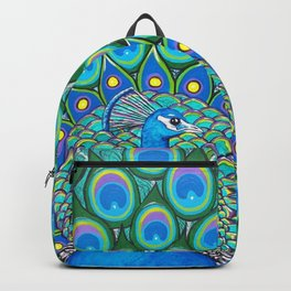 Showing My Colors - Peacock Backpack