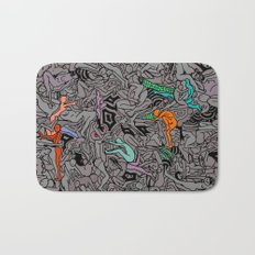 Kamasutra LOVE Doodle - Retro Colors 1 Bath Mat