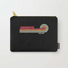 Binghamton New York City State Carry-All Pouch