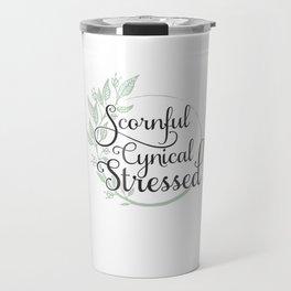 Scornful Travel Mug
