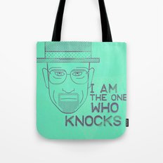 Breaking Bad - Faces - Heisenberg Tote Bag