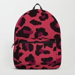 leopard print pink modern home design Backpack