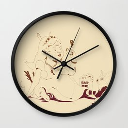 Alice stuck in the wonderland ! Wall Clock