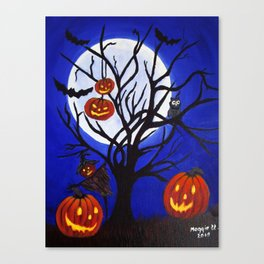 Halloween-5 Canvas Print
