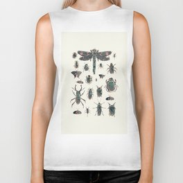 Collection of Insects Biker Tank