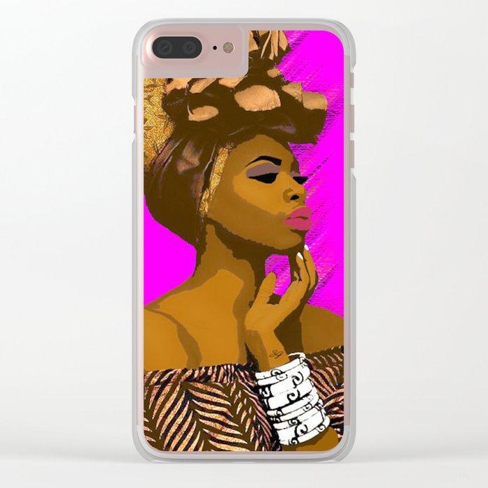 Naomi Clear iPhone Case