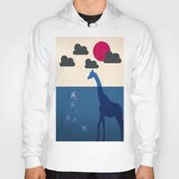 africa Hoodies featuring Africa by Mehdi Elkorchi