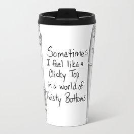 Clicky Top Travel Mug