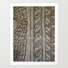 Ravenna Tiles Art Print