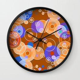 Hot Bubbles Wall Clock