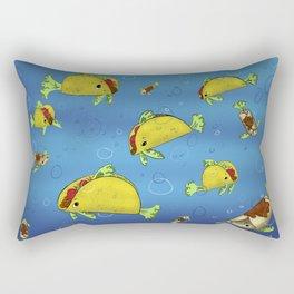 Fish Tacos Rectangular Pillow