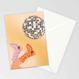 70's Disco Print Stationery Cards