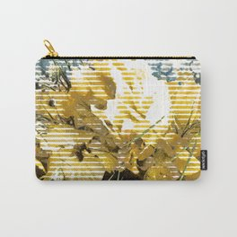 lady with flower in her hair Carry-All Pouch