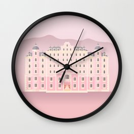 The Grand Budapest Wall Clock