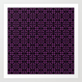 Purple Apocalypse Art Print