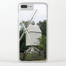 White Mill - Colonial Williamsburg Clear iPhone Case