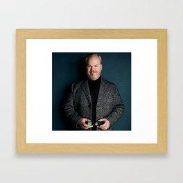 Jim Gaffigan quality time tour 2019 ca1 Framed Art Print