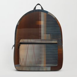 Uninhabited Mosaic (Zig Zag) Backpack