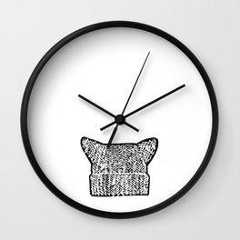Pussyhat Power Wall Clock