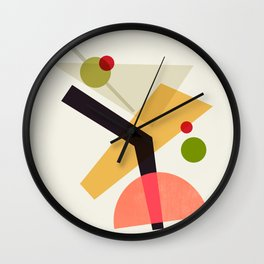Cocktail IV Martini Wall Clock