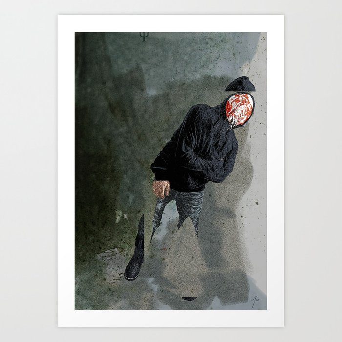 String Theory: Collapsing Wavefunction, Fourth Tangible Art Print
