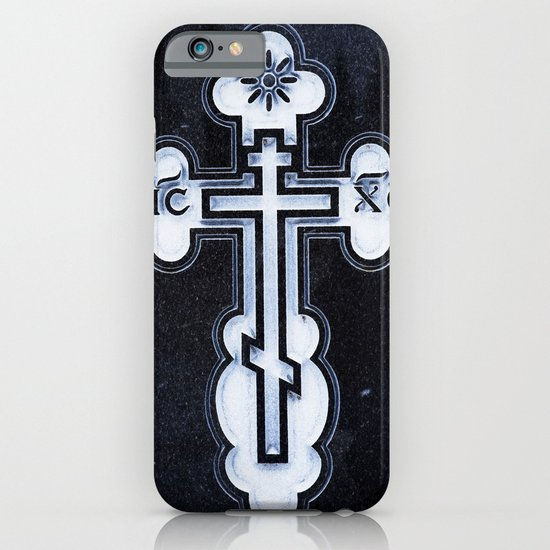 Russian Greek Orthodox Cross iPhone & iPod Case