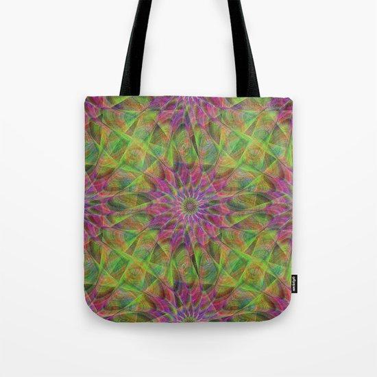 Fractal pattern Tote Bag
