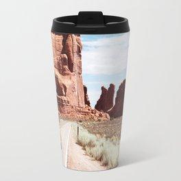 Road Trip Landscape Scene Travel Mug