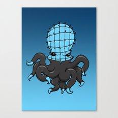 Cenobite octopus Canvas Print