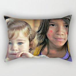 respected differences Rectangular Pillow