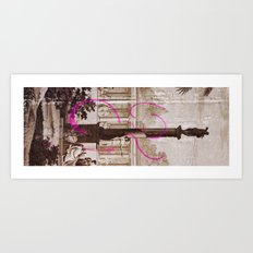 In the Bath Art Print