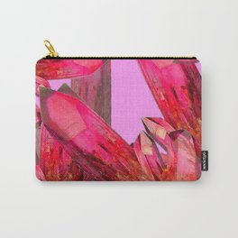 RED & GOLDEN CRYSTALS CONTEMPORAR ART Carry-All Pouch