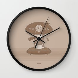 Coffee Maker Series - Automatic Espresso Machine Wall Clock