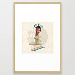 Mrs. Florida Framed Art Print