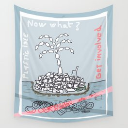 Plastic Isle Wall Tapestry