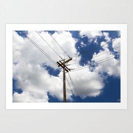 Infrastructure Art Print