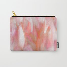 Pink Tulips Abstract Nature Spring Atmosphere Carry-All Pouch