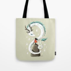 Dragon Spirit Tote Bag
