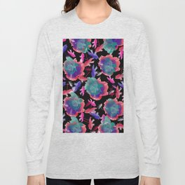 Abstract floral background 999 Long Sleeve T-shirt